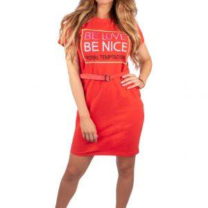1.4319 Dress be love orange